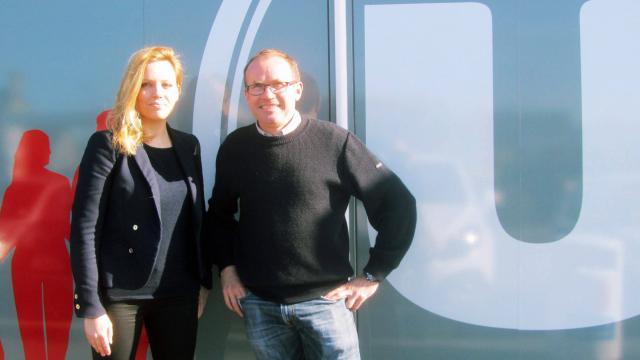 Virginie Plé et Olivier Harou ont décidé de s'associer dans le cadre d'un projet humanitaire. | ouest-france