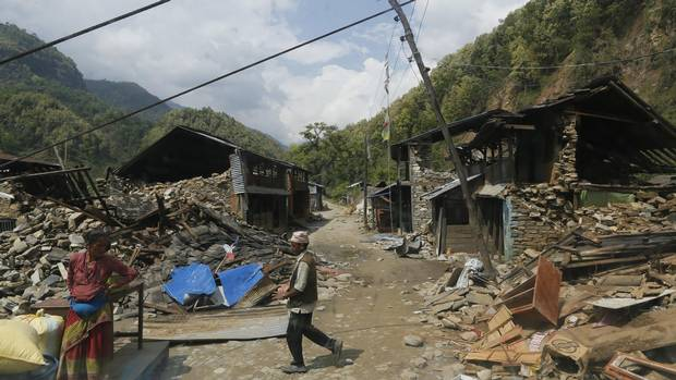 Nepal_village_Earthquake