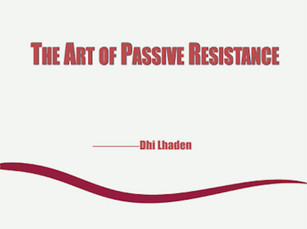 the_art_of_passive_resistance