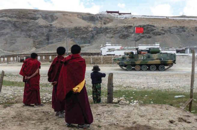 Tibet_turned_into_a_military_zone